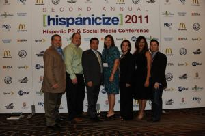 Here with my team from PR Newswire at the Hispanicize 2011 conference in Los Angeles, CA