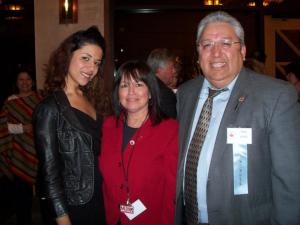 With Marty & David Cortinas, publishers of La Voz Colorado Newspaper @ the NAHP 2009 conference (National Assoc. of Hispanic Publications).